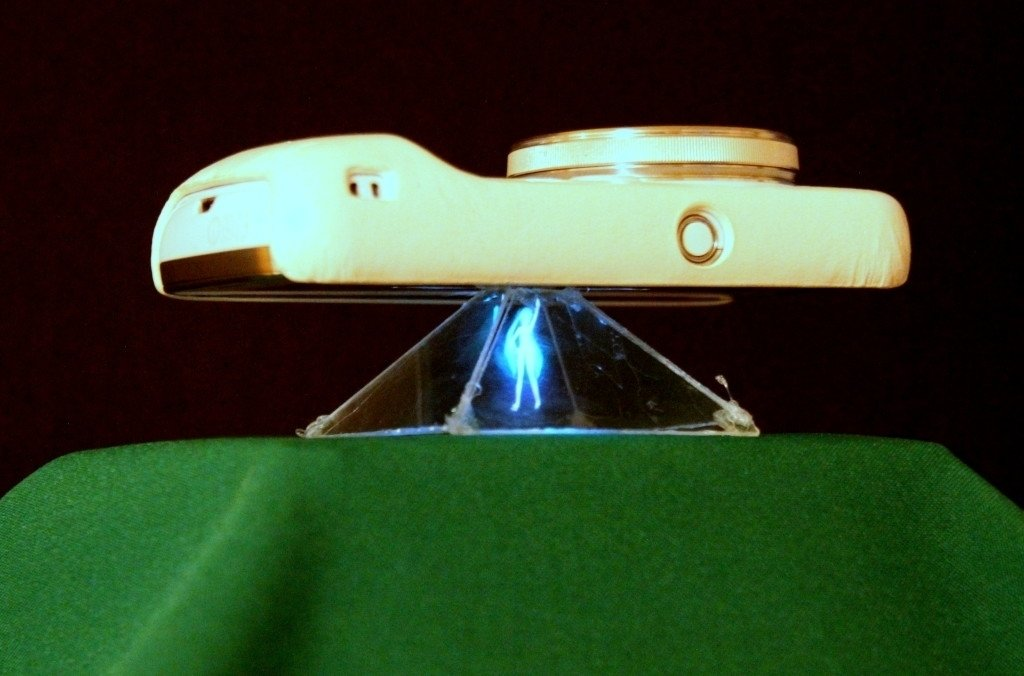 Голограмма своими руками проектор